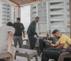 DMW boys call out Aloma for acting like a landlord in the house Davido bought for all of them