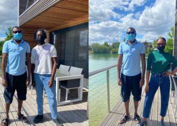 He looks like a carpenter apprentice -Nigerians react to Femi Otedola's simplicity in recent photos