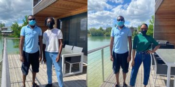 He looks like a carpenter apprentice -Nigerians react to Femi Otedola's simplicity in recent photos