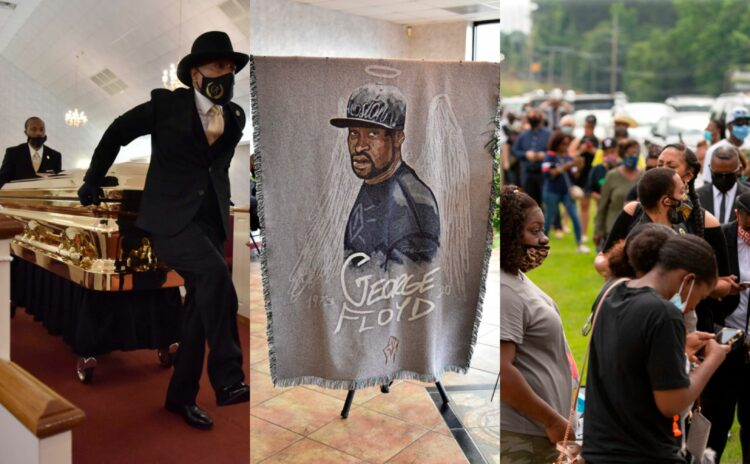 Thousands of mourners assemble outside George Floyd's private funeral (Photos, video)