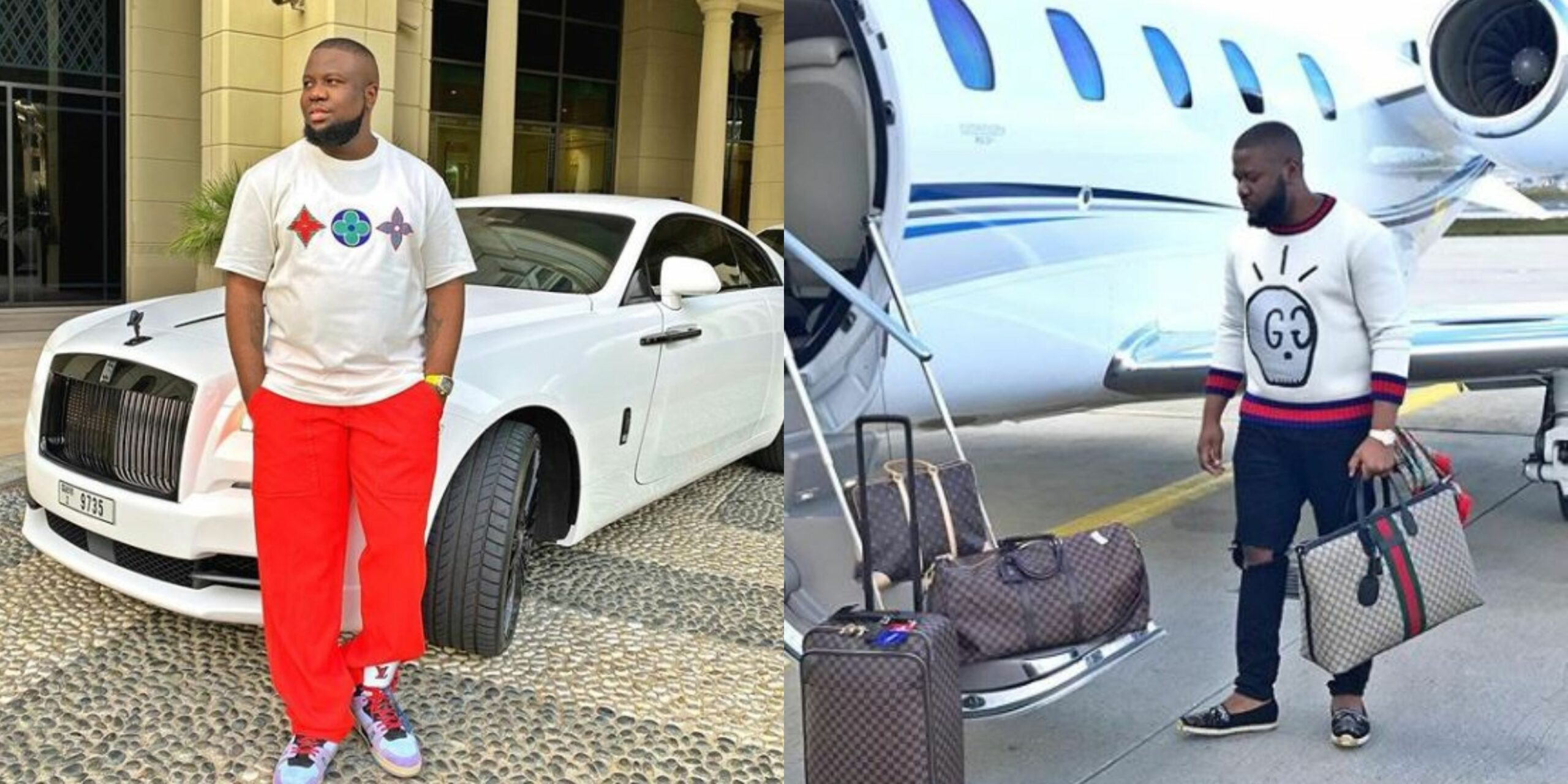 Hilarious reactions from Nigerians as Dubai based big boy, Hushpuppi gets arrested by the FBI