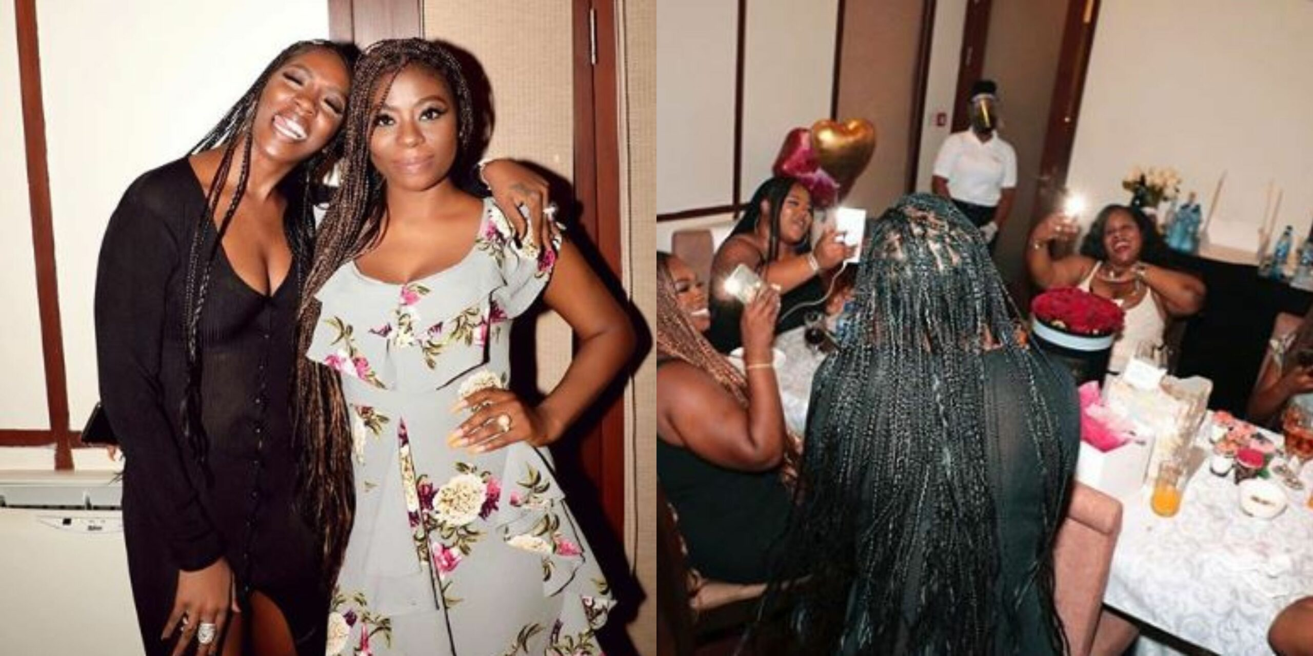 Beautiful photos from Sophie Momodu's all-girls birthday getaway at Lakowe Golf Resort