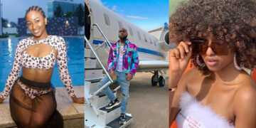 International Runs: BBNaija's Kim Oprah accused of sleeping with Davido during her US trip last year