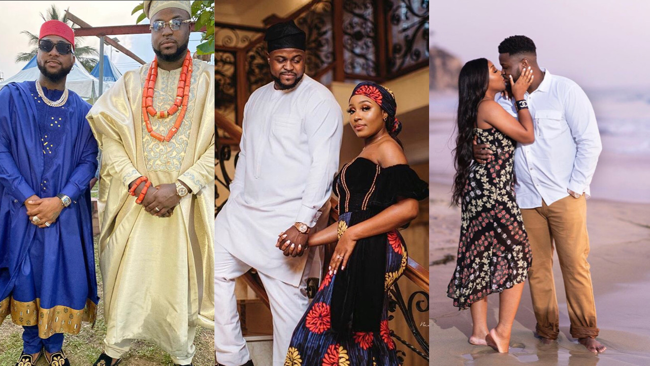 Davido's brother, Adewale's 4-month-old-marriage to Kani having serious troubles; What his wife wrote on IG...