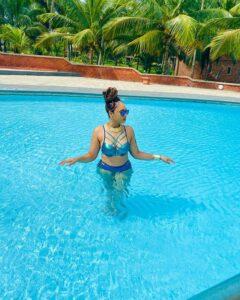 Actress, Rosy Meurer dazzles in new Bikini photos