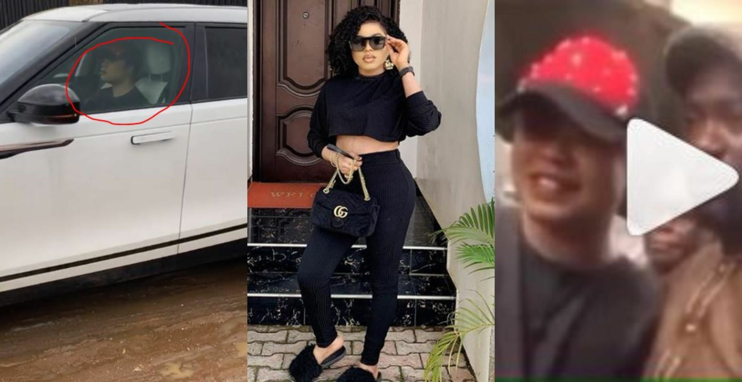Bobrisky abandons his female genitals, shows up at his father's birthday as a man (Video)