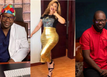 Thank you for my hips and bum bum -Tonto Dikeh says as she celebrates her surgeon on his birthday