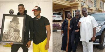 Kizz Daniel remembers late father on his posthumous birthday (Photo)