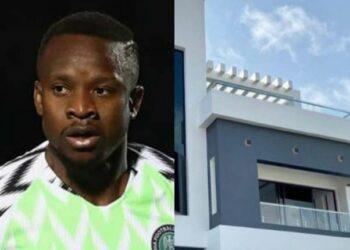 Super Eagles player Ogenyi Onazi buys multi-million naira home in Lekki (photos & video)