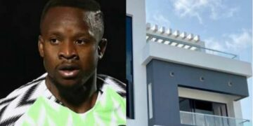 Super Eagles player Ogenyi Onazi buys multi-million naira home in Lekki (photos & video)