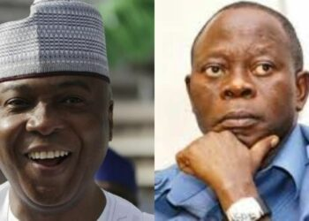 Oshiomhole's masquerade will dance naked in the market – Saraki