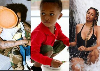 Checkout the emotional father's day message Wizkid's 3rd babymama Jada P, wrote for him, there is more to it....