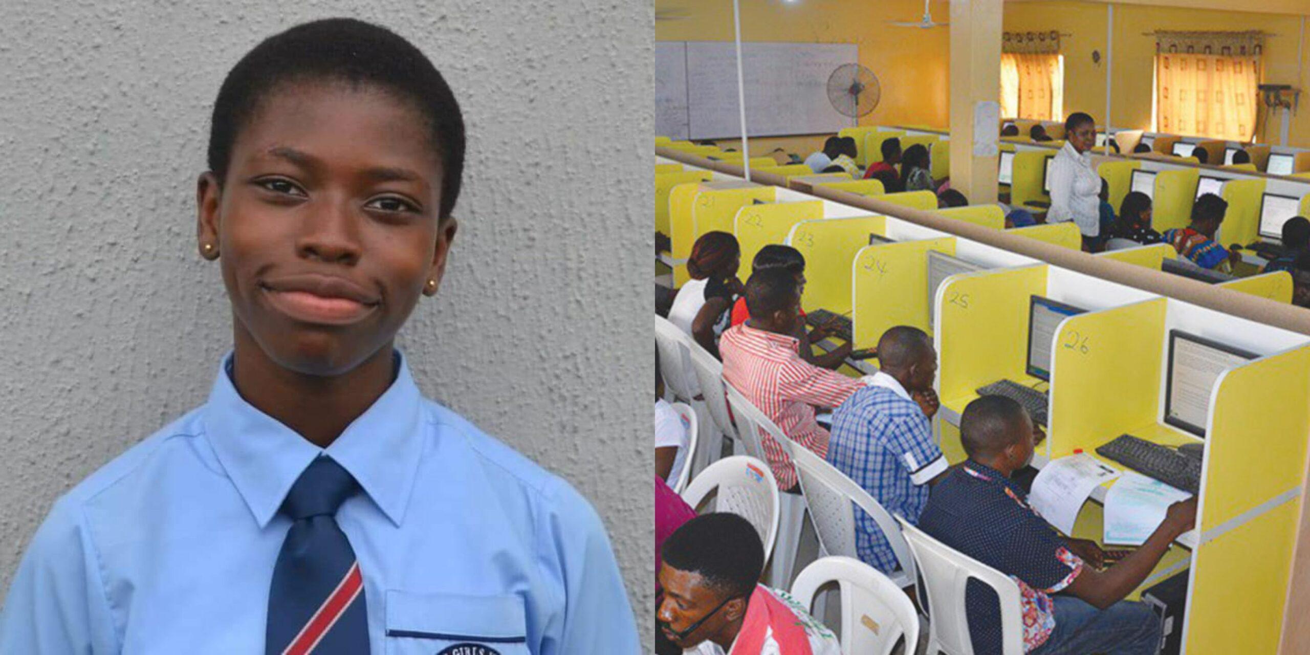 Meet Miss Madu Agnes, Girl With The Highest 2020 JAMB Score (Photos)
