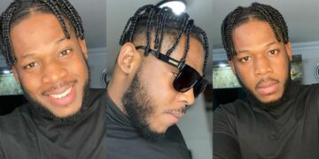BBNaija's Frodd debuts new look -Nigerians call him Anambra Travis Scott (Photos)