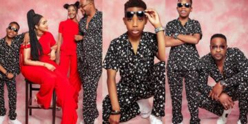 Actor, Bolanle Ninalowo and wife celebrate their son as he clocks 12 today