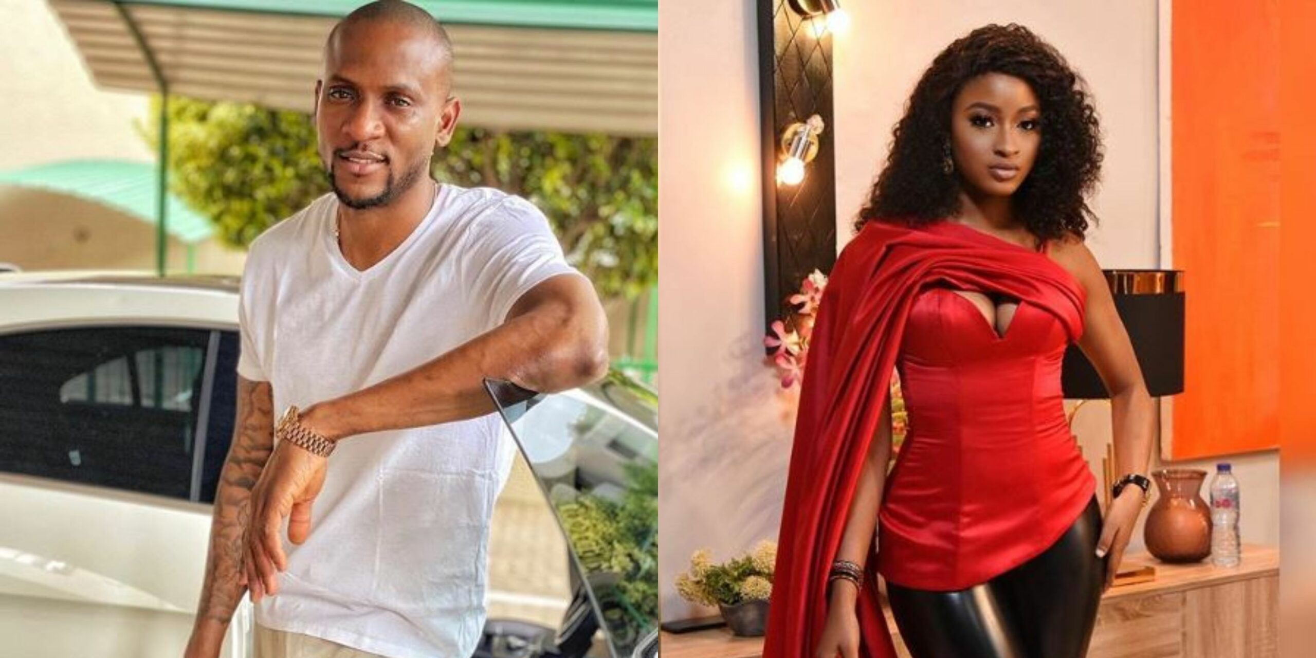 "BBNaija Reunion: I want Kim Oprah, She knows that, I'm ready to do anything to have her back"" - Omashola spills the beans"