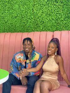 Rema's date shows off her new boyfriend following speculations of relationship with the star (Photos)