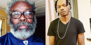 Naira Marley gifts N1 million to veteran actor Chukwuka Jude for singing his song (Video)