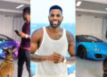 Jason Derulo flaunts his 2022 Lamborghini that changes colours