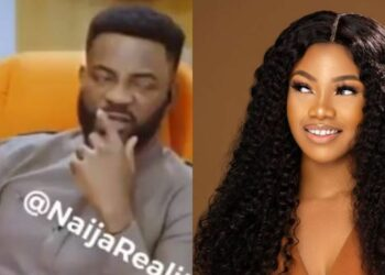Ebuka, housemates react in the most hilarious way as Tacha claims she as never insulted anyone before (Video)