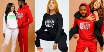 Mercy Eke launches new merch with her popular 'Relazz and be taken kiaruff' statement (Photos)