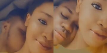 My boyfriend started crying when I told him I was leaving -Lady shares mushy video online