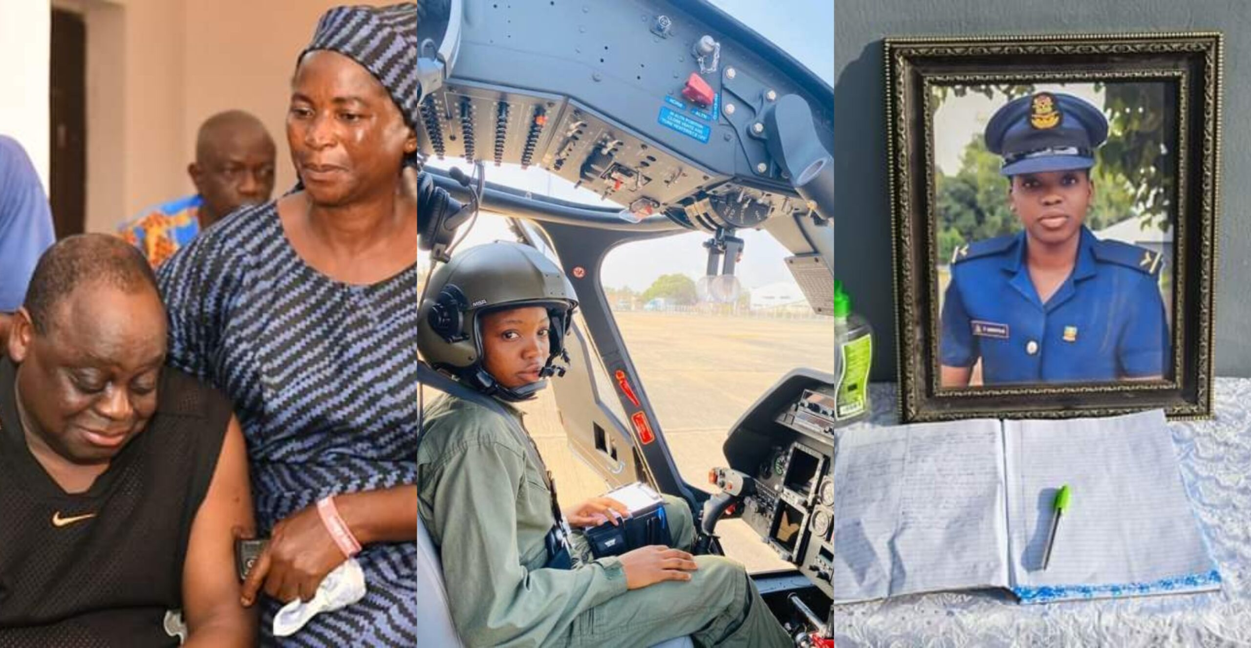 I spoke with my Tolu at 1pm, I heard she's at the mortuary at 5pm -Father of late female pilot breaks down