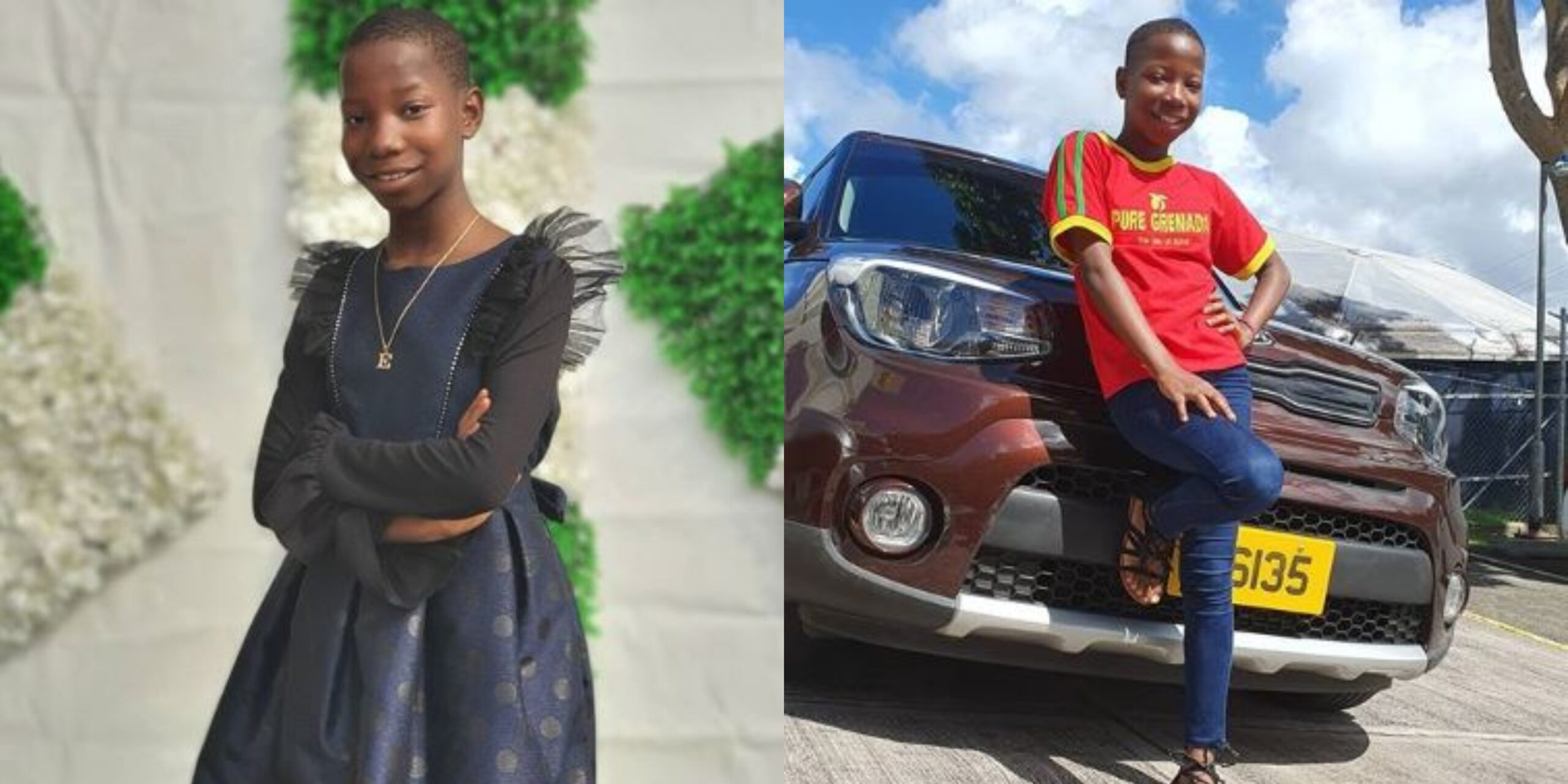 Lovely photos of Emmanuella as she celebrates 10th birthday