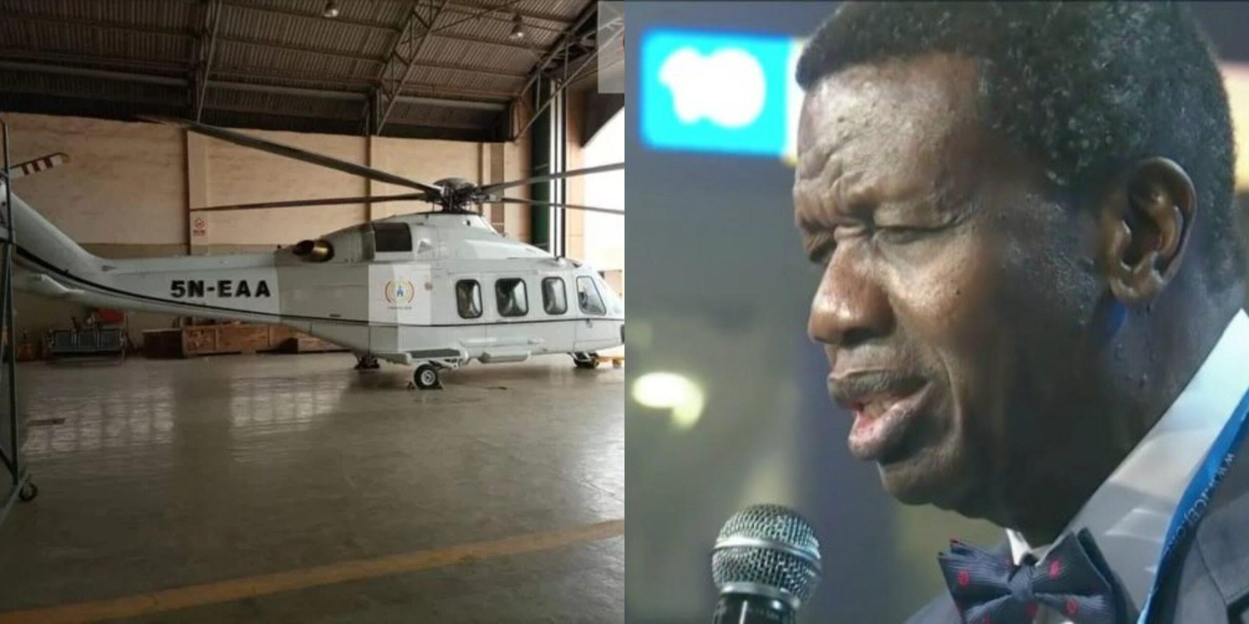 Pastor Adeboye buys new helicopter (Photo)