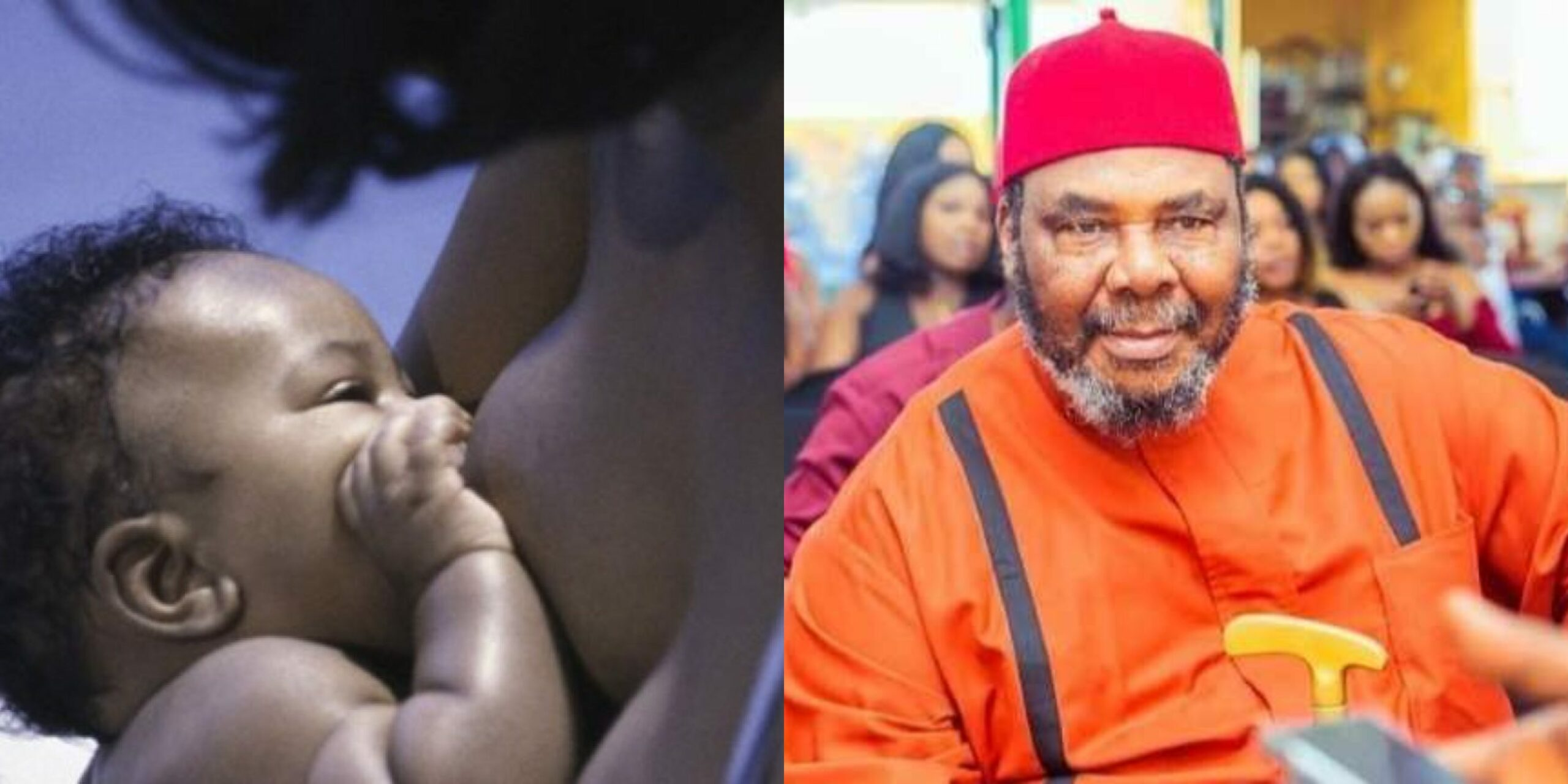 It Is Stupid To Think Your Breasts Will Be Firm Forever - Pete Edochie Slam Women Who Don't Breastfeed Their Kids (VIDEO)
