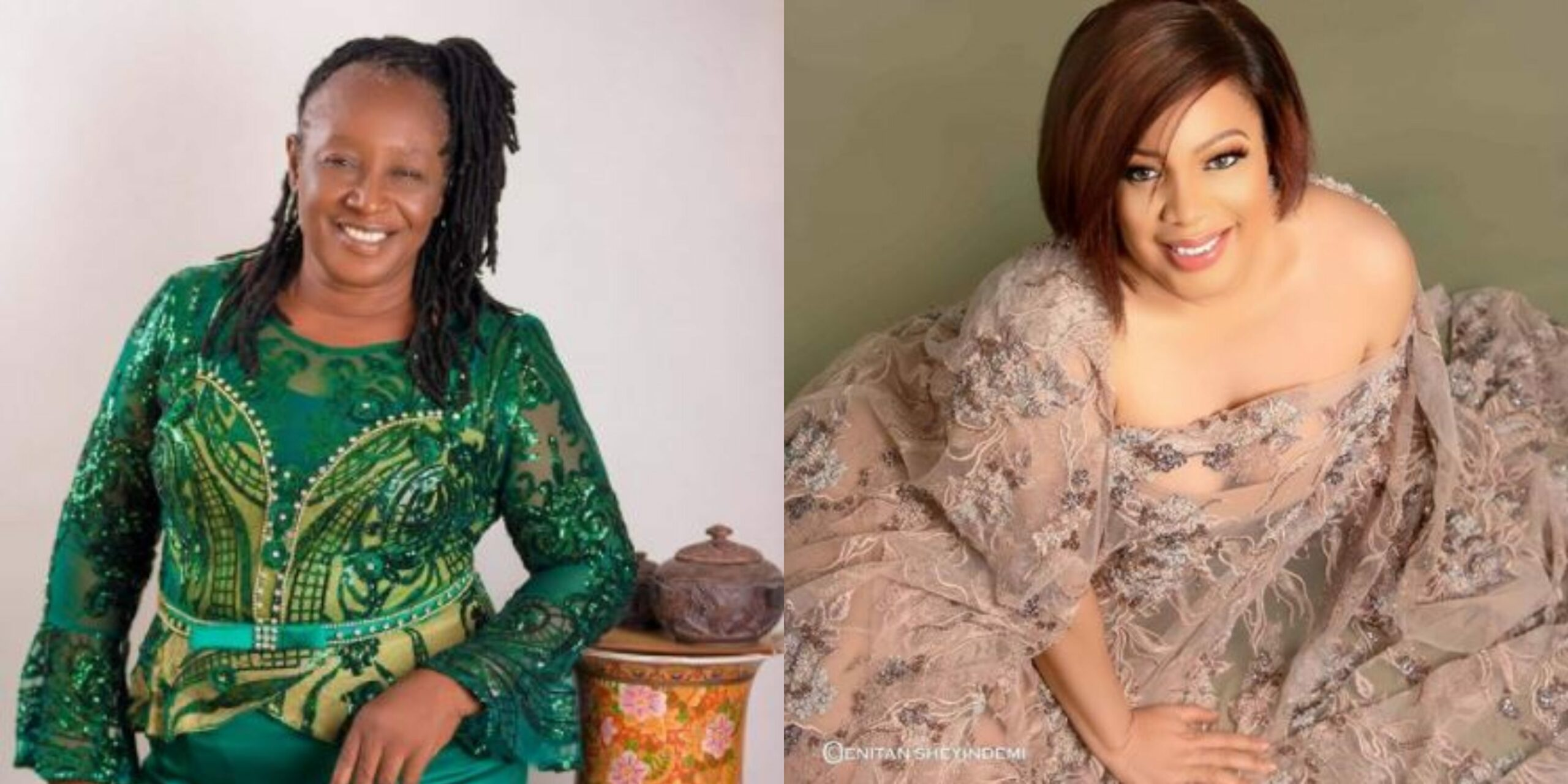 Two Nollywood veterans, Monalisa Chinda, Patience Ozokwo celebrate their birthday (Photos)