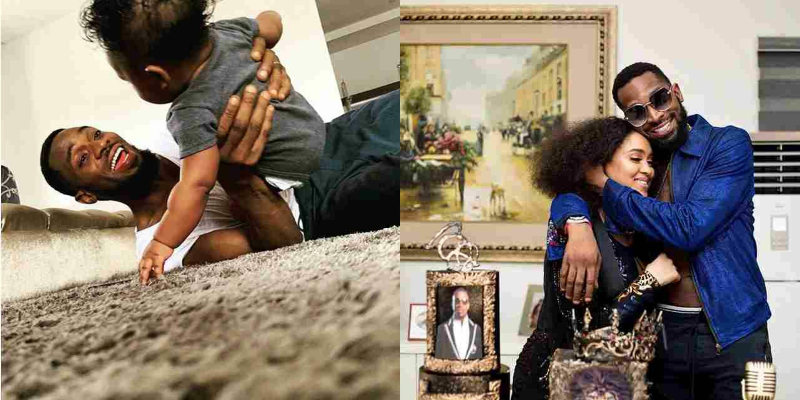 D'banj Shares Adorable Photo As His Son Turns One Today