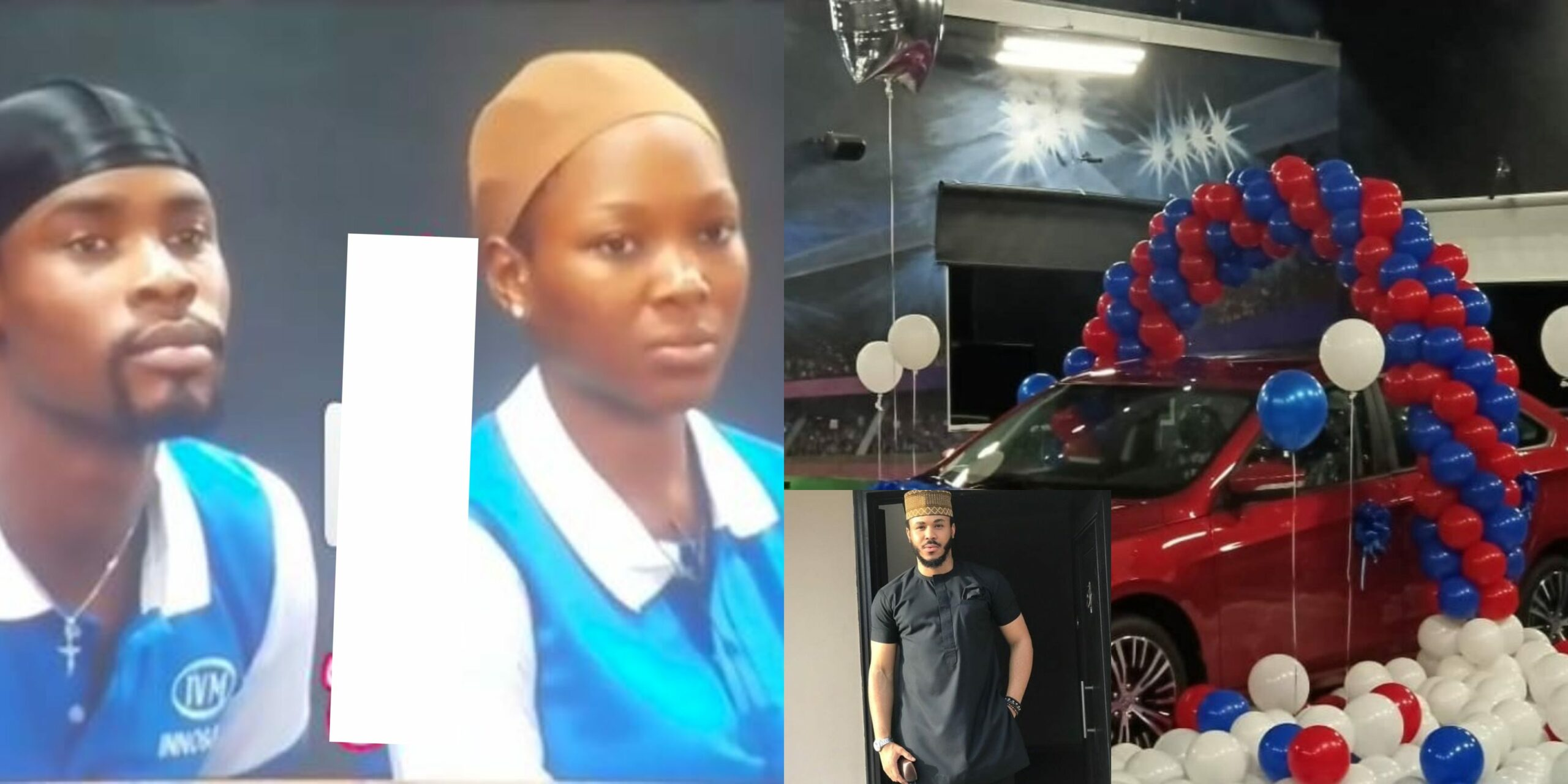 They Are Jealous and Bitter - Nigerians Spot Vee And Neo's Reaction After Ozo Won Innoson Motor Challenge (Video)