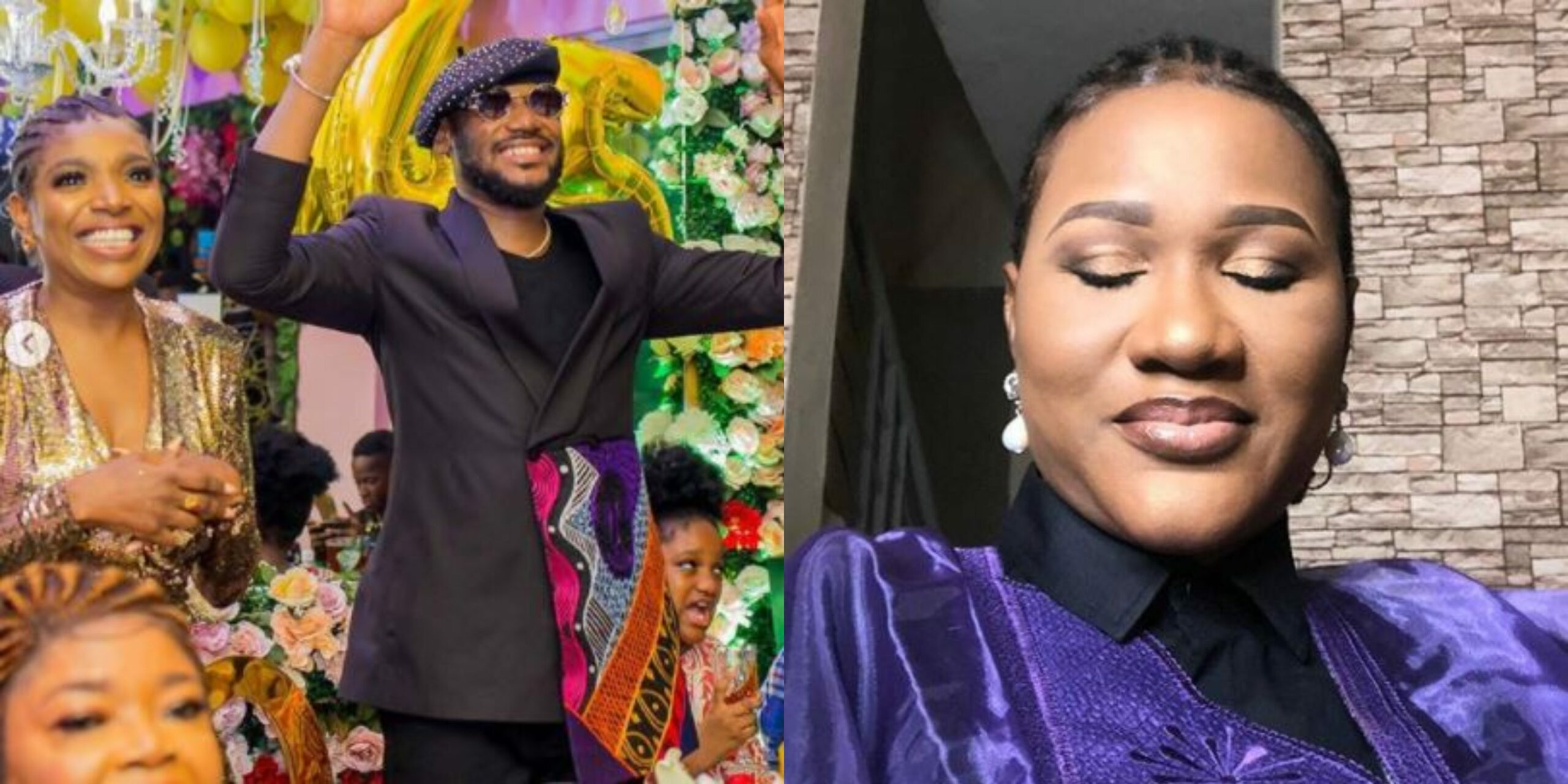 Annie Idibia thanks 2Baba's Baby Mama, Sumbo Adeoye For Organizing Surprise Birthday Party