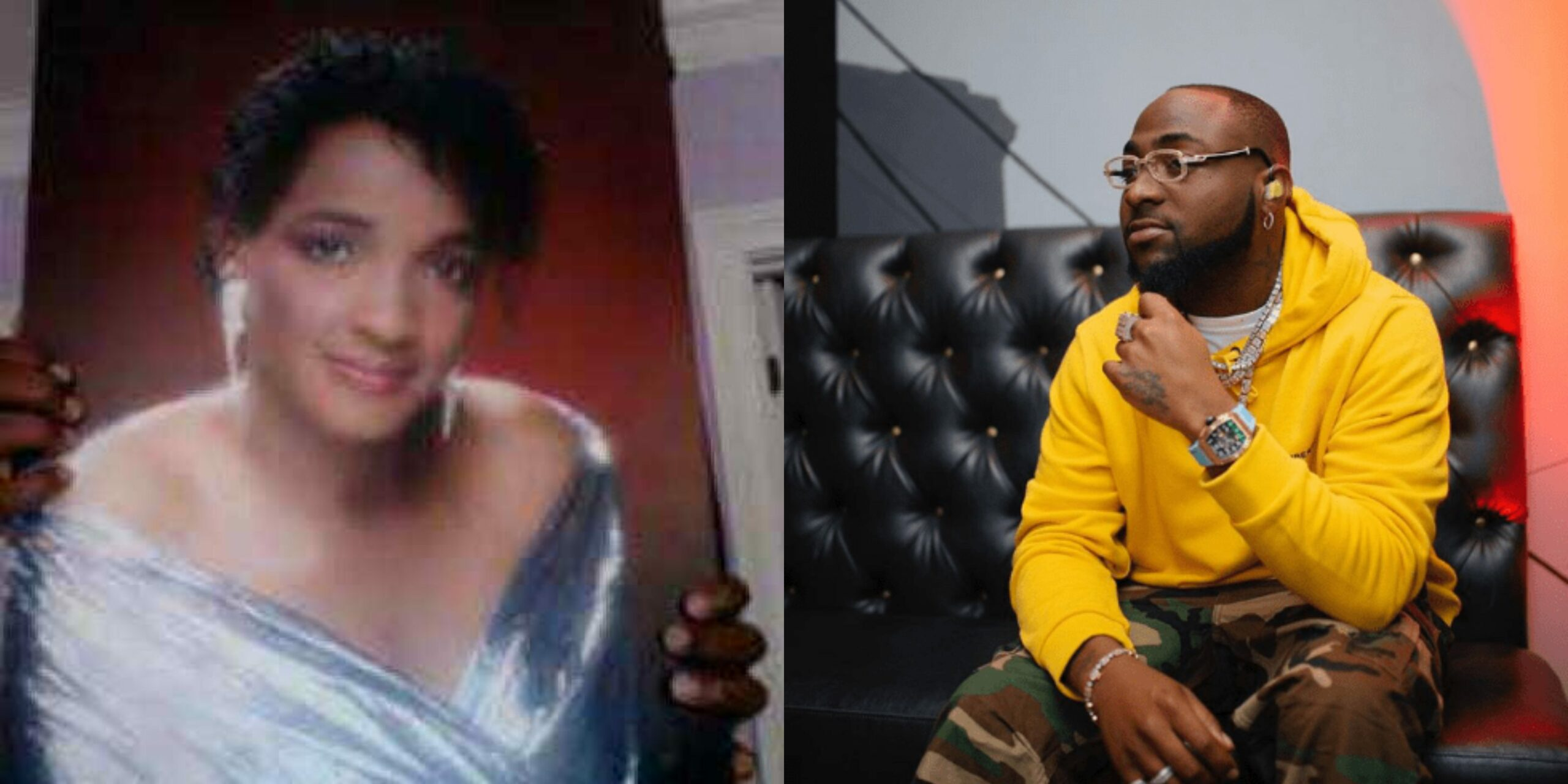 """My Mum Died Of Cardiac Arrest"" – Davido Finally Opens Up On Her Mother's Death"