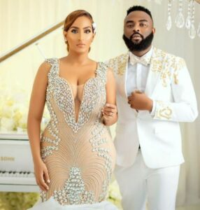 Juliet Ibrahim And VJ Adams Reportedly Tie The Knot (PHOTOS, VIDEOS)