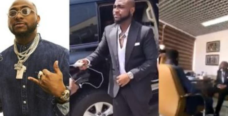 Nigerians react as Davido denies joining protests against SARS in meeting with IGP (VIDEO)