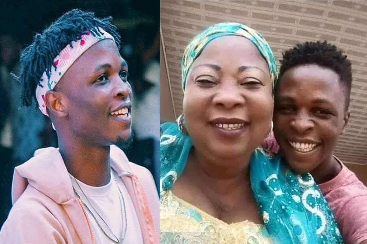 Weeks After Laycon Won N85m, See New Picture Of His Mum Looking So Different