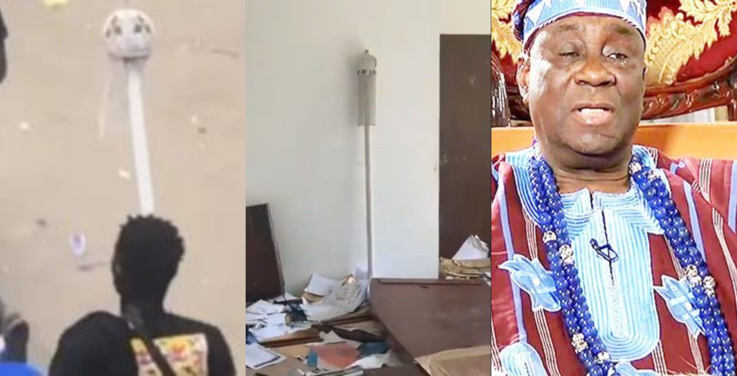 Oba of Lagos Staff of Office reportedly recovered (Video)