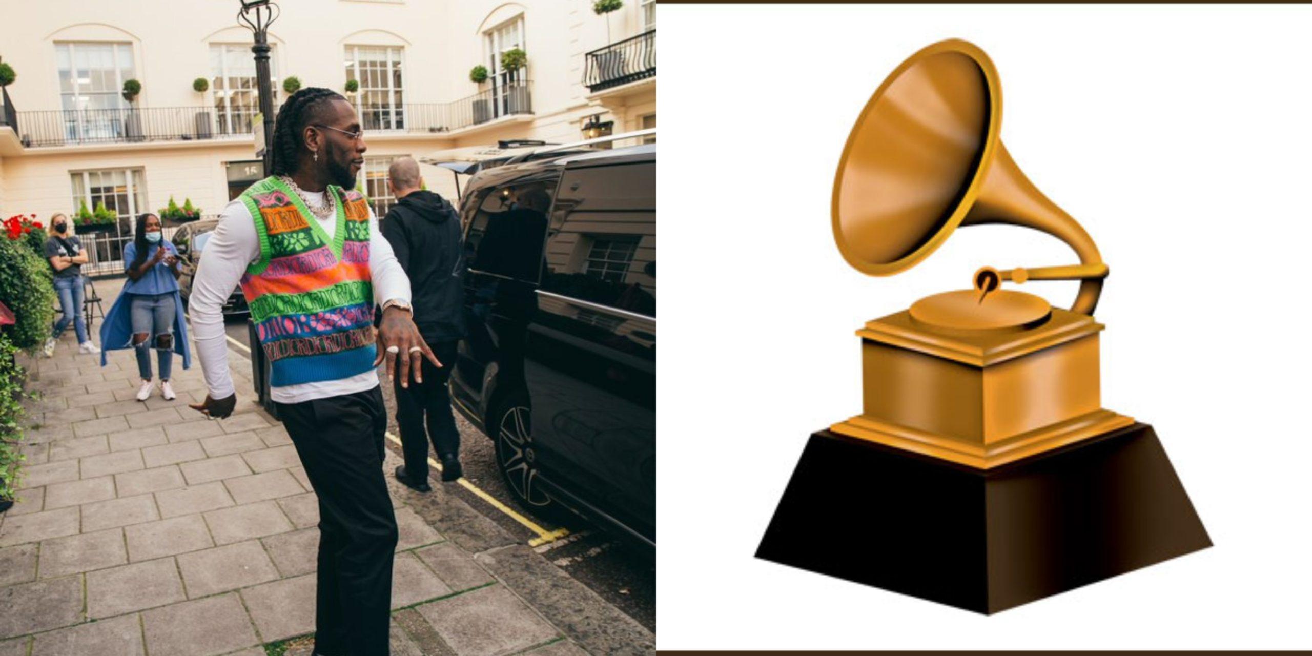 Another One! – Burna Boy Celebrates Grammy Award Nomination