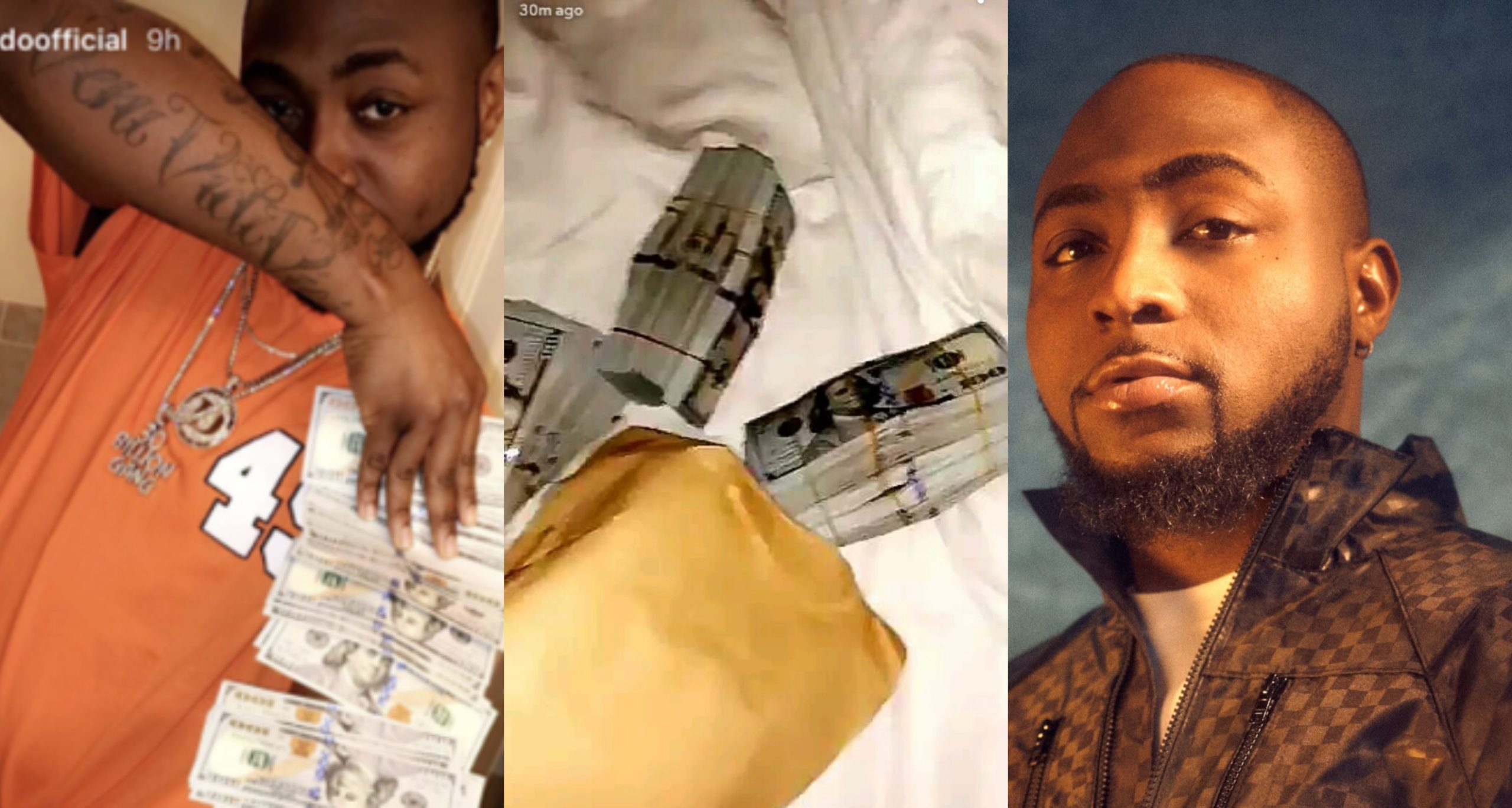 I changed Naira to Dollars today and I almost cried – Davido