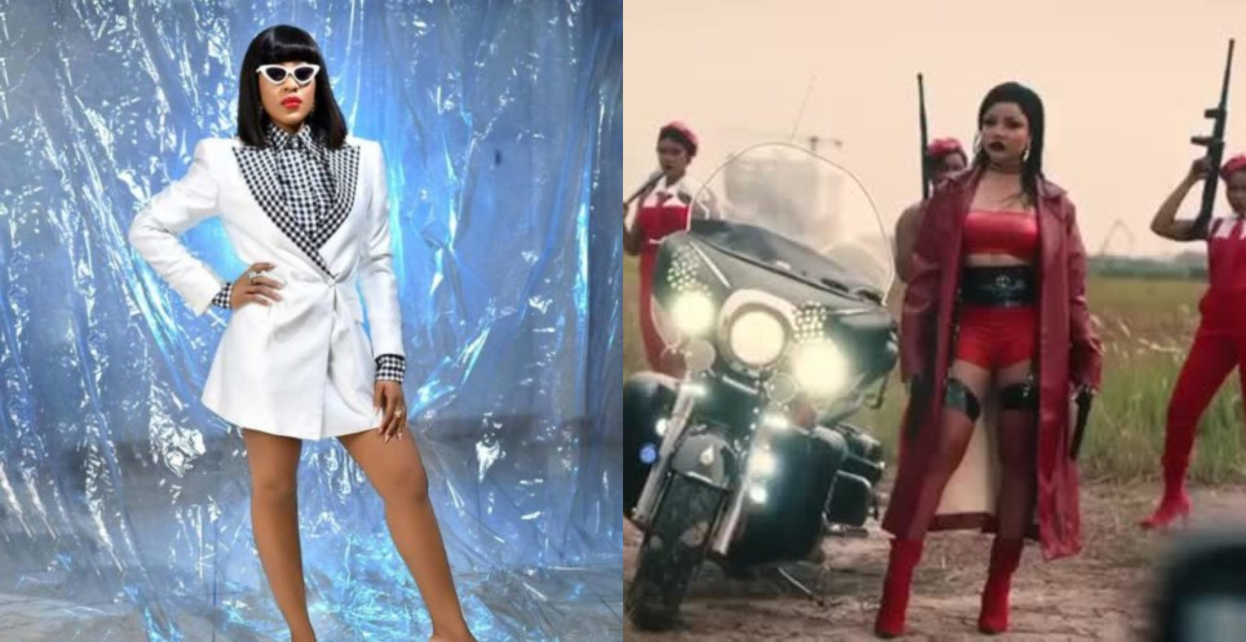 Nengi And Erica's Fans Drag Themselves To The Gutters As Nengi Features In Davido's Jowo Video
