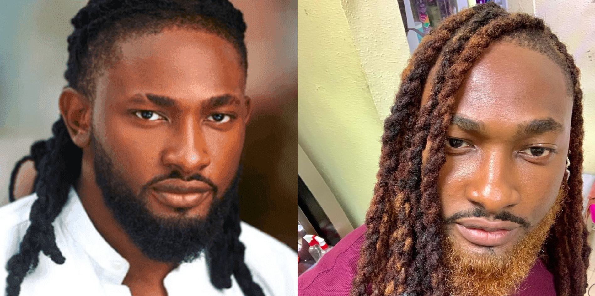 Big Brother Africa Winner Uti Nwachukwu Changes His Look, Dyes Beard Gold
