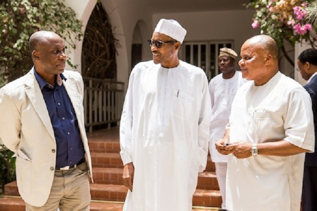 PRESIDENT ELECT GEN BUHARI  RECEIVED MORE GUEST