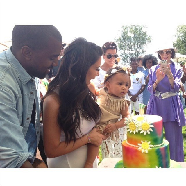 Kim-Kardashian-Kanye-West-Norths-1st-Birthday-Instagram