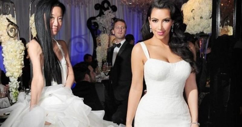 Kim-Kardashian-first-wedding-gown-vera-wang