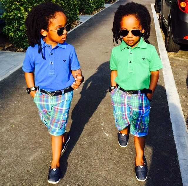 cutest-twins-The-Trent
