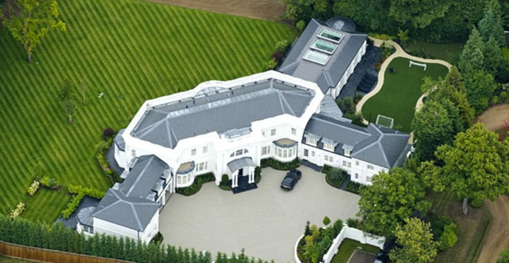 Top 10 most expensive homes of footballers with pictures for Top ten home builders