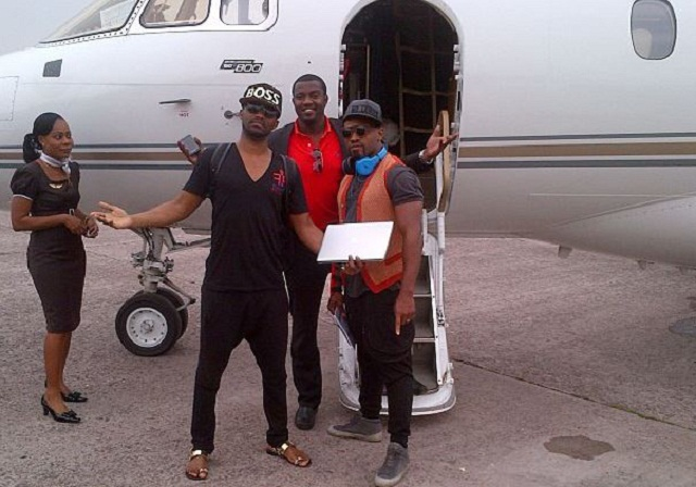 Private-Jet-John-Dumelo-Fally-Ipupa-TheinfoNG