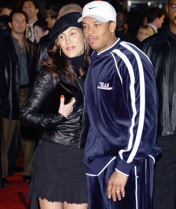 Dr.-Dre-and-Wife-Nicole-Threatt